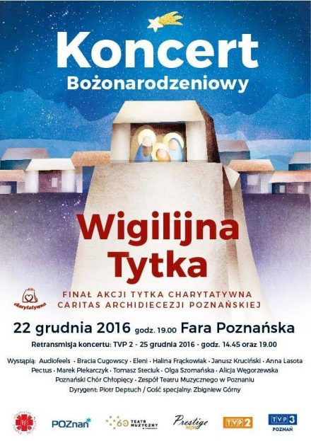 """Koncert Bożonarodzeniowy """"Wigilijna Tytka"""""""